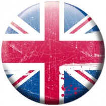Badge Londres drapeau