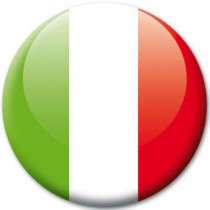 Badge drapeau Italie