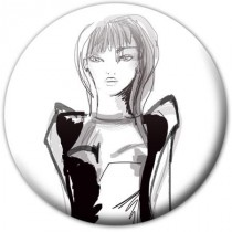 Badge personnage Mlle Fashion
