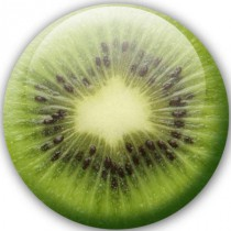 Badge nature Kiwi