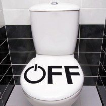 Stickers WC OFF