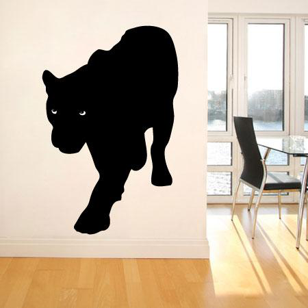 stickers nature animaux panth re noir stickers malin. Black Bedroom Furniture Sets. Home Design Ideas