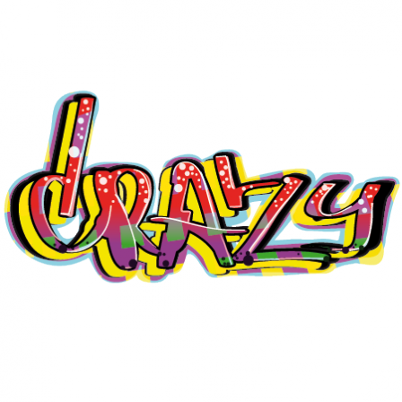 Stickers graffiti crazy