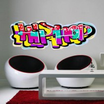 Stickers graffiti hiphop fluo