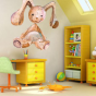 Stickers enfant oursons lapin