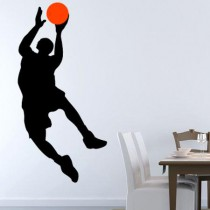 Stickers basketteur dunk 6