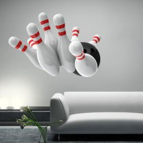 Stickers Bowling 3D