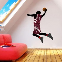 Stickers basket saut dunk