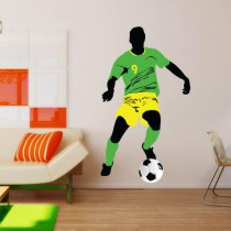 Stickers soccer drible