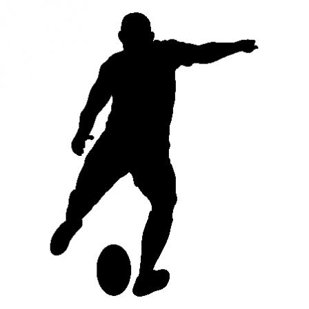 Stickers Rugbyman 2