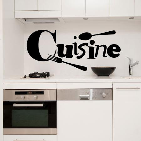 stickers cuisine stickers malin. Black Bedroom Furniture Sets. Home Design Ideas