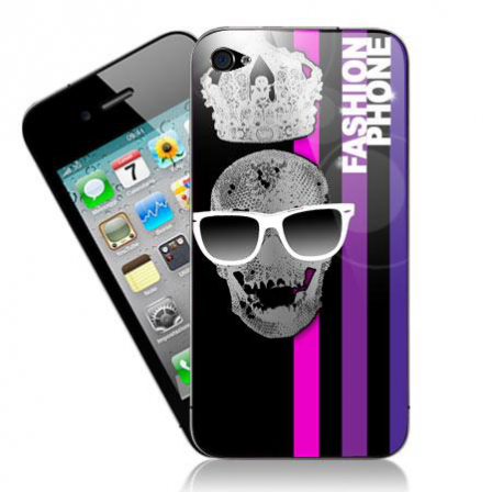 Stickers iPhone skull fashion