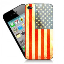 Stickers iPhone drapeau americain