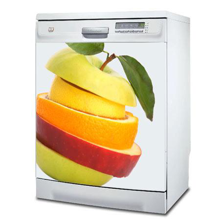Stickers lave vaisselle mix fruits stickers malin for Mon lave vaisselle fuit