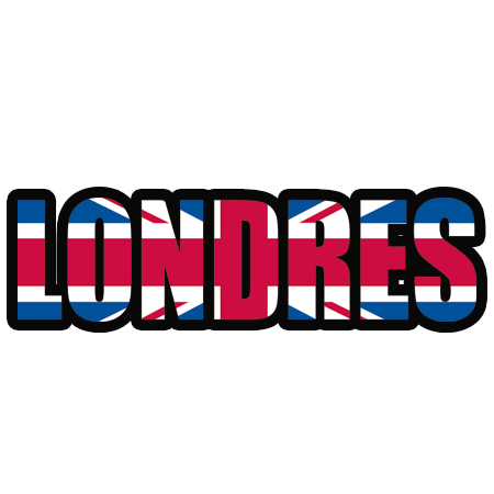 Stickers Londres Et Drapeau Stickers Malin