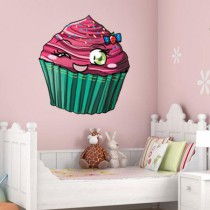 Stickers cupcake kawaii