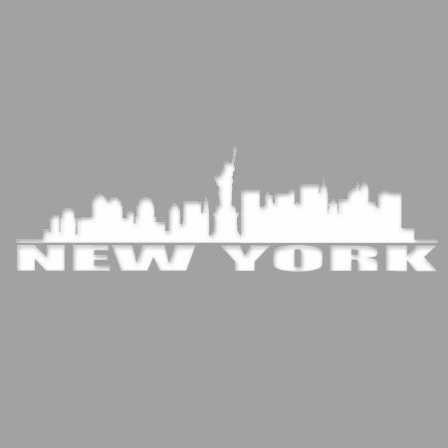 Pochoir Adhésif New York Ville